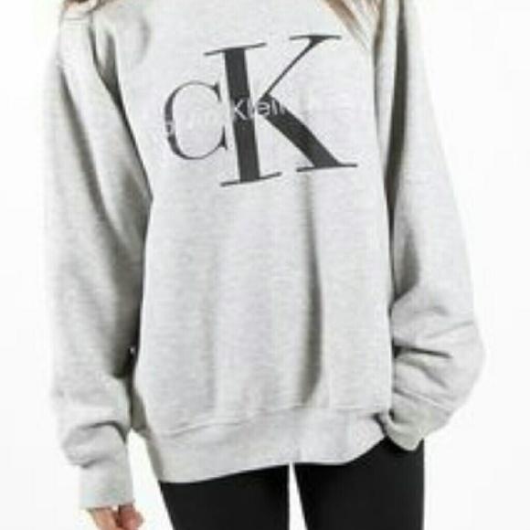 a15eb16ab7dc Calvin Klein Jeans Sweaters - Maroon VINTAGE Calvin Klein crew neck  sweatshirt