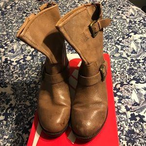 Steve Madden Shoes - Steve Madden Temmpt motor boot size 6.5