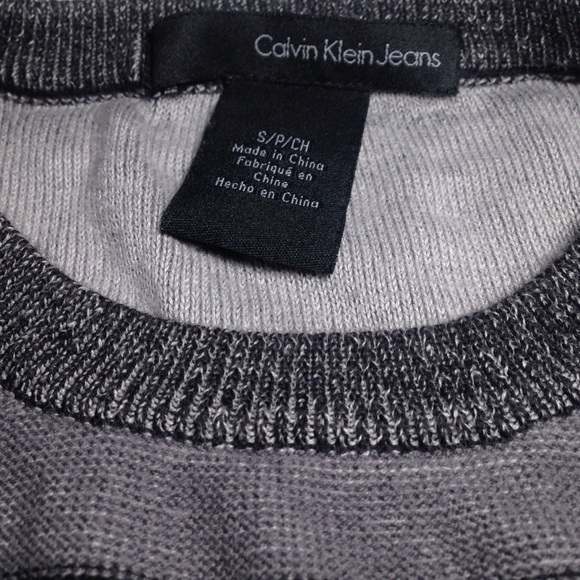 62 Off Calvin Klein Jeans Other Sale 💯calvin Klein Slim Fit Sweater From Mgo S Closet On