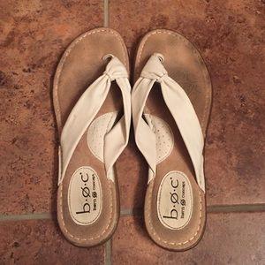 b.o.c. Shoes - Born Concepts White Sandals