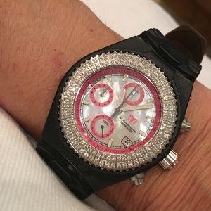 Technomarine Accessories - Technomarine Watch with diamond bezel