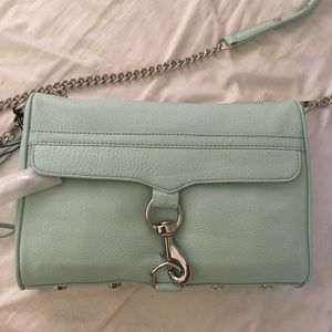 Rebecca Minkoff MAC daddy in Mint (not mini Mac)