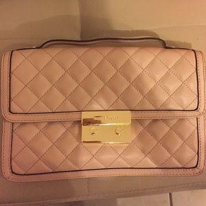 Michael Kors Sloan Leather Top Handle Messenger