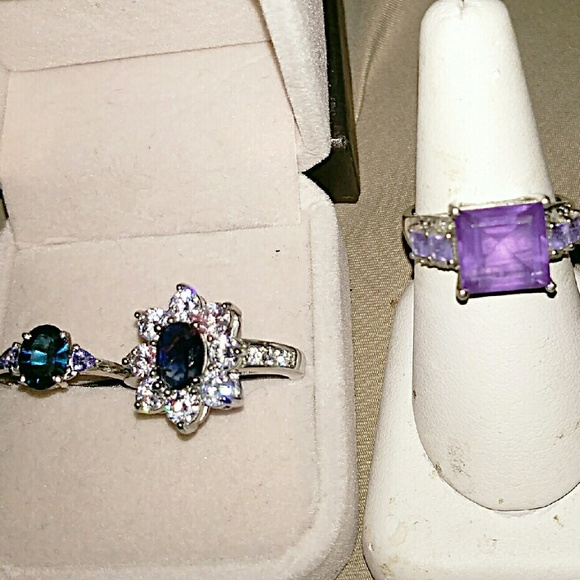Lot of 3 size 8 rings