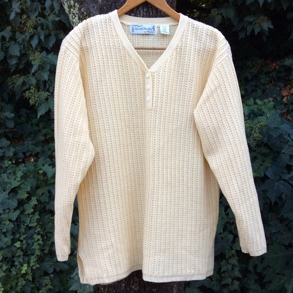 Vintage - Soft. Yellow. Sweater. Vintage. Lovely. from Petra's ...
