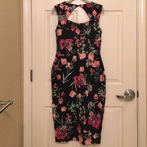 Boohoo Dresses & Skirts - Floral sweetheart midi dress