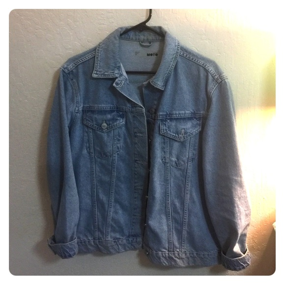 e37f60616ee Topshop Jackets & Coats | Moto Western Denim Jacket | Poshmark