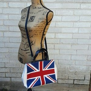 Amanda Smith Handbags - Amanda Smith Union Jack Flag Handbag