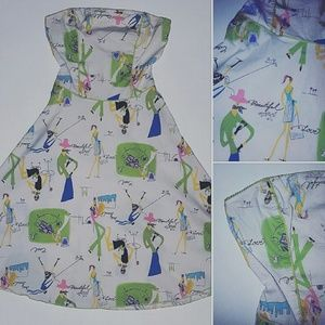 Dresses & Skirts - EUC Rave dress, sz S with cutest design!