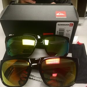 New QuikSilver sunglasses