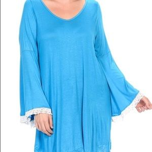 Bellino Clothing Tops - PLUS SIZE TUNIC