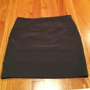 Ambiance Apparel Dresses & Skirts - Gray bandage skirt