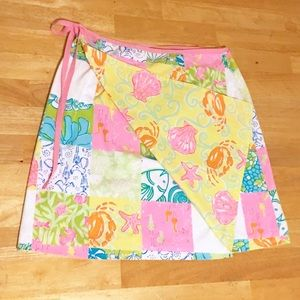Lilly Pulitzer Dresses & Skirts - Lily Pulitzer Reversible Wrap Skirt
