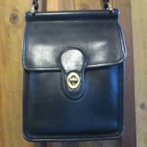 Vintage Coach Murphy Crossbody Bag Handbag Black