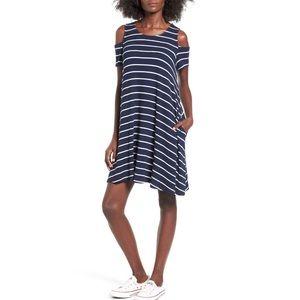 Mimi Chica Dresses & Skirts - Cold Shoulder Shift Dress