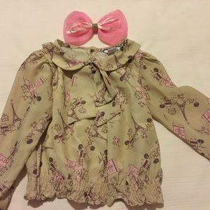 Hartstrings Other - 🗼❤️Hartstrings long sleeve blouse size 4t EUC🗼❤️
