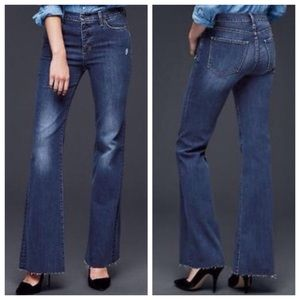GAP 1969 Authentic Flare High Rise Jeans