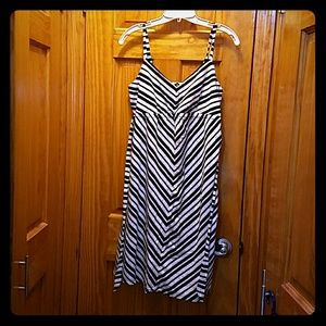 Maternity  zebra strip dress