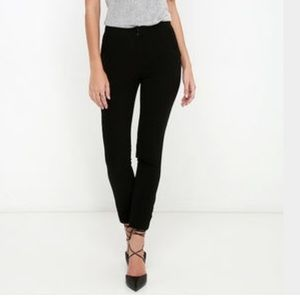 Lulus vocation vixen black dress pants