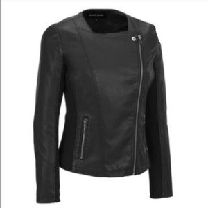 Wilsons Leather Jackets & Blazers - Buttery soft black faux leather moto jacket!!