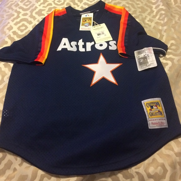 quality design 11f6f a8a13 Mitchell & ness Houston astros jersey NWT