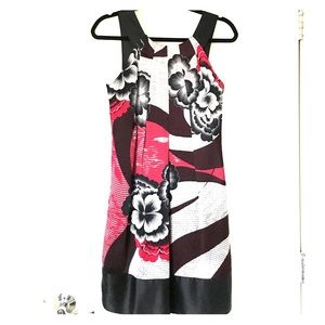 Ted Baker Dresses & Skirts - NWT Ted Baker red and black Floral silk dress