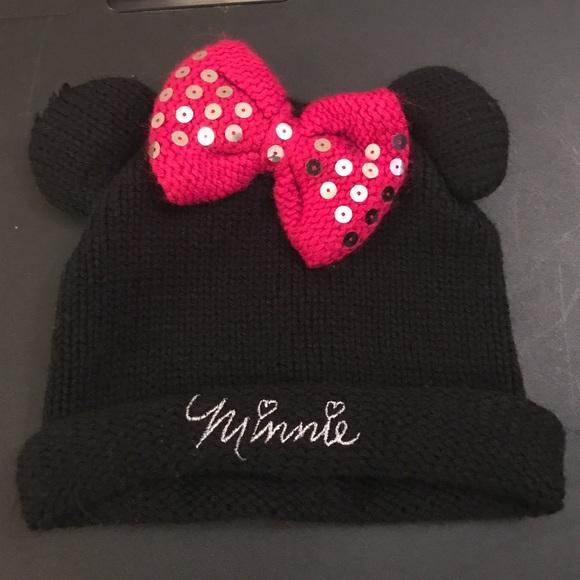 Disney Other - Kids Minnie Mouse winter hat 496313b46fd