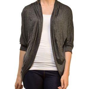 Bellino Clothing Sweaters - Bellino 3/4 Sleeve Open Cardigan