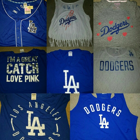 Htf vs PINK Dodgers collection!!!!!!!