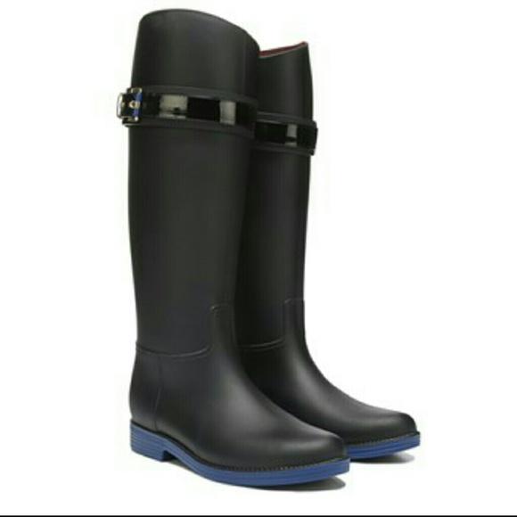 69fe2d177a0ac5 Tommy Hilfiger Spritz Rain Boots