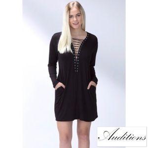 The Blossom Apparel Dresses & Skirts - ✌🏼❤🌈🦄 LACE-UP DRESS ❣ 🆕 blossomapparelusa.com