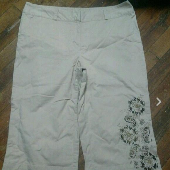 Style & Co - STYLE & CO. WOMEN'S PLUS SIZE 18 CAPRI PANTS EUC from ...