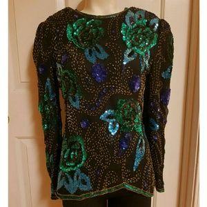 Rare vintage sequin top/blouse