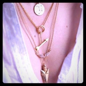 Jewelry - NEW MULTILAYERED GOLD NECKLACE
