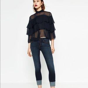 "ZARA Trafaluc ""slim"" skinny jeans"