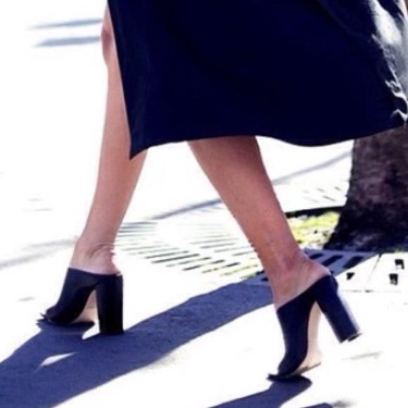 02c9d18a0eb Zara high heel mules. M 581b47c35c12f82c5500f3f4