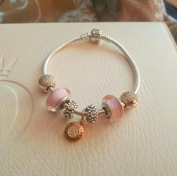 charm rose pandora