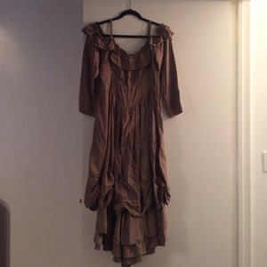 Dresses & Skirts - Vintage Goth maxi ( custom made)