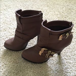 Just Fab Shoes - Heeled booties from Just Fab.