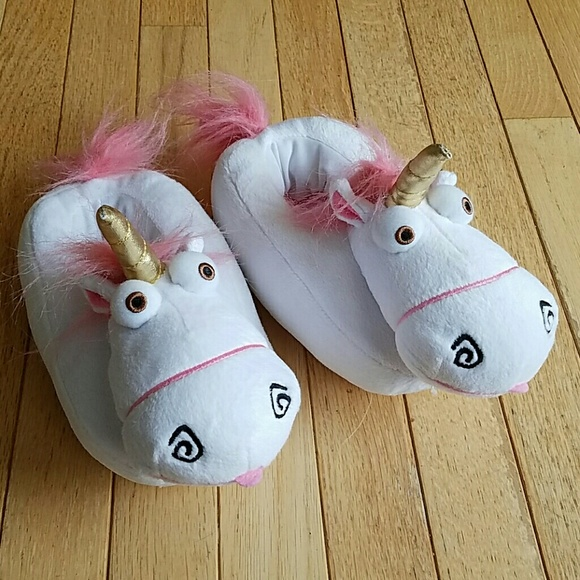 Unicorn slippers - Despicable Me from Disney world 0f3d4f467