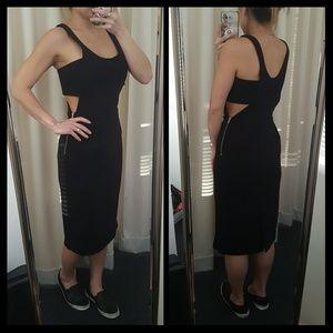 ASOS black cutout dress