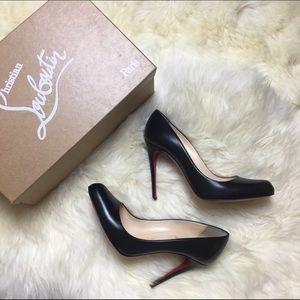 Christian Louboutin Shoes - ⭐️SALE⭐️{christian louboutin} hi elisa black pumps