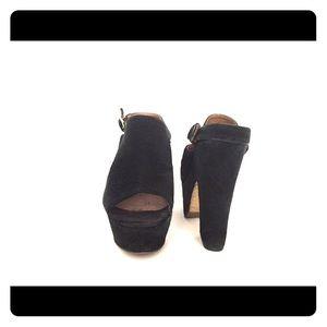 Steve Madden platform heels / Suede / Size 37