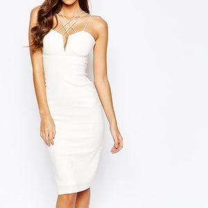 ASOS Dresses & Skirts - Asos white body-con dress
