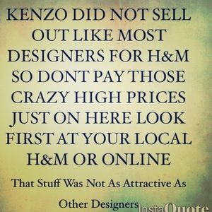 Look for Kenzo at your local H&M