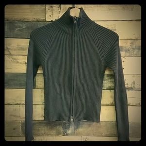 Roberto Collina Sweaters - Roberto Collina brown  merino wool fitted sweater.