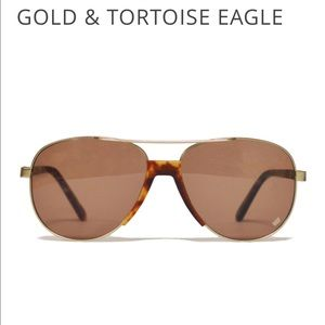 Accessories - Sold Out Wild Soul Golden Eagle Sunglasses