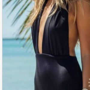 Other - Black swimming suite one piece sw140