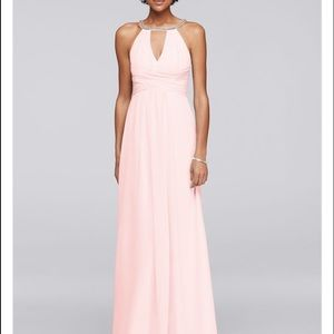 Jenny Packham Dresses & Skirts - New! Long Bridesmaid Dress with Keyholes in Petal