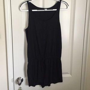 Old Navy Dresses & Skirts - Black tank top romper NWT